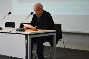 Lesung mit Herrn Christian Grashoff