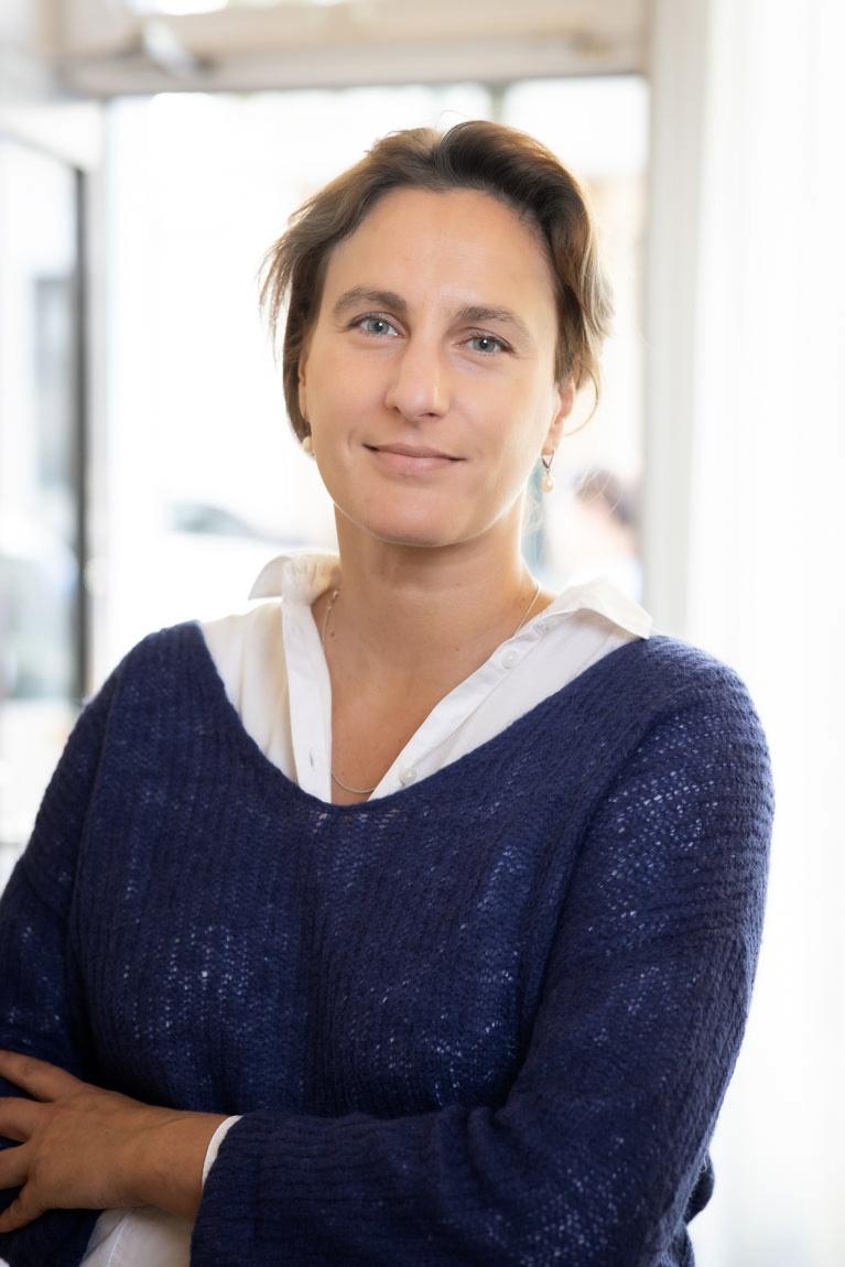 Christiane Koch, Assistentin der Verwaltungsleitung